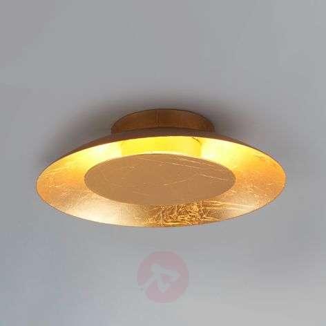 Keti - gold-coloured LED wall lamp