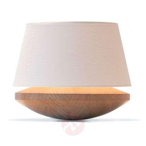 Kjell - table lamp with linen lampshade, cream