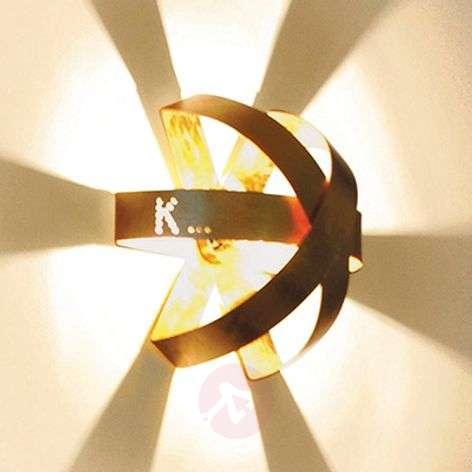 Knikerboker Ecliptika - gilded wall light, 40cm