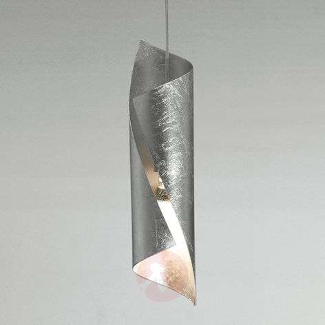 Knikerboker Hué hanging light in silver, one-bulb