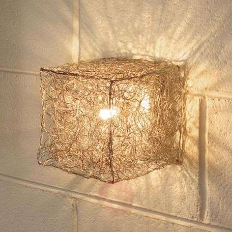 Knikerboker Qubetto - cube-shaped wall lamp