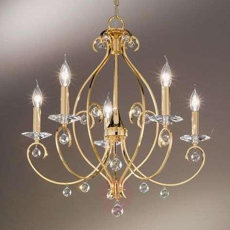 KOLARZ Carat - five-bulb chandelier