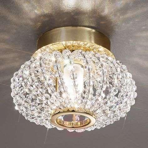 KOLARZ Carla - crystal ceiling light with gold