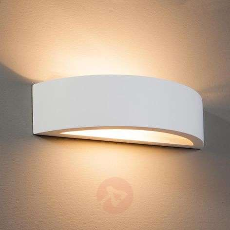 Konstantin Wall Light Curved Plaster White