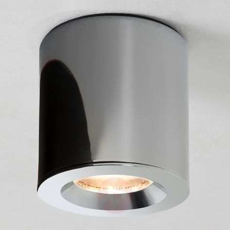 Kos ceiling spotlight in polished chrome IP65