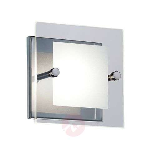 Krystyna LED wall light, chrome-plated