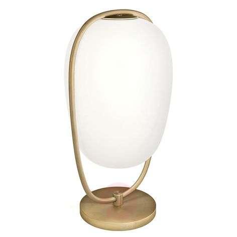 Kundalini Lannà table lamp with handblown glass