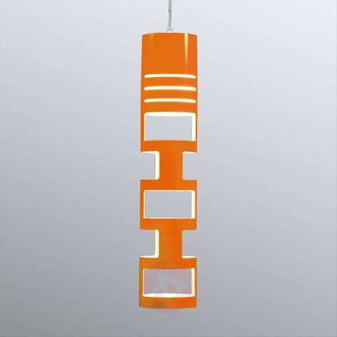Kundalini Sama hanging light orange