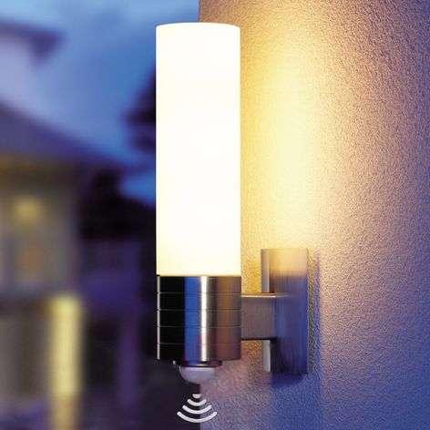 L 260 LED sensor wall light for the outdoors