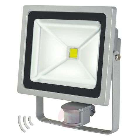 L CN 150 LED outdoor wall spotlight, sensor, 50W-1540189-32