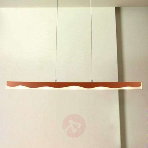 La Mer controllable pendant lamp with a wave form