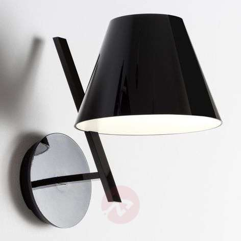 La Petite black designer wall light