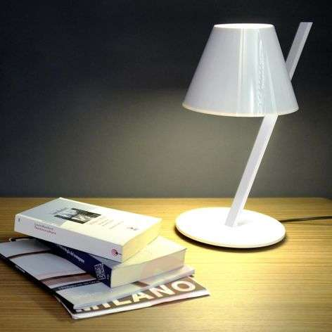 La Petite white designer table light