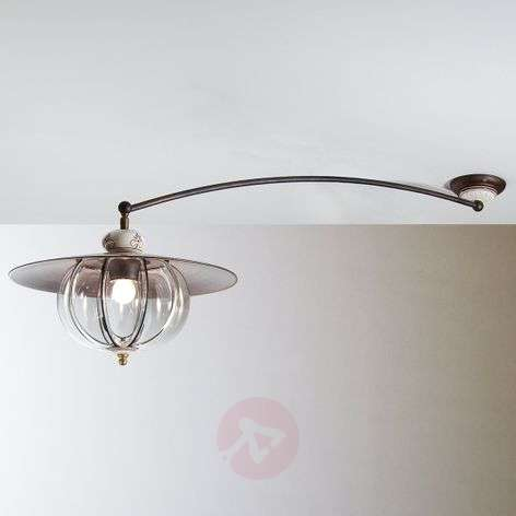 Lampara ceiling light with a long arm