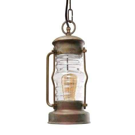 Lantern-shaped hanging light Antiko