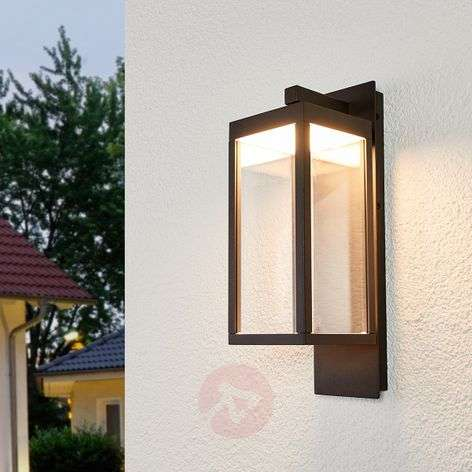 Lantern-shaped LED outdoor wall light Ferdinand