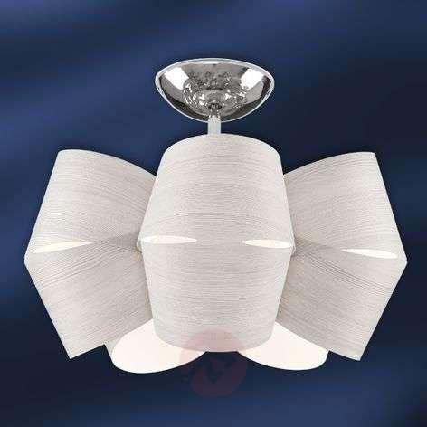Larch wood ceiling light Sky Mini Alien ice grey-1056074-31