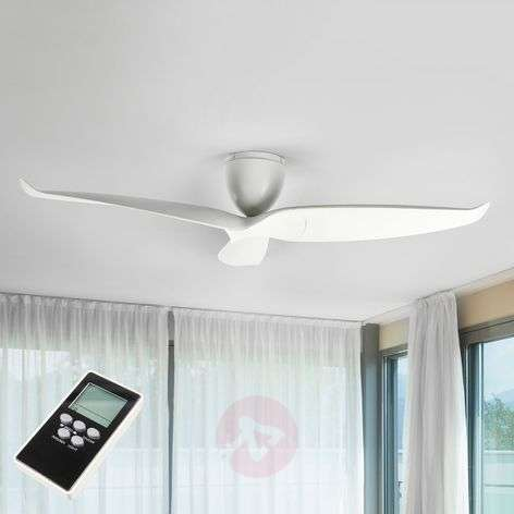 Large ceiling fan Seraphine, white, 152.4 cm-1068014-321