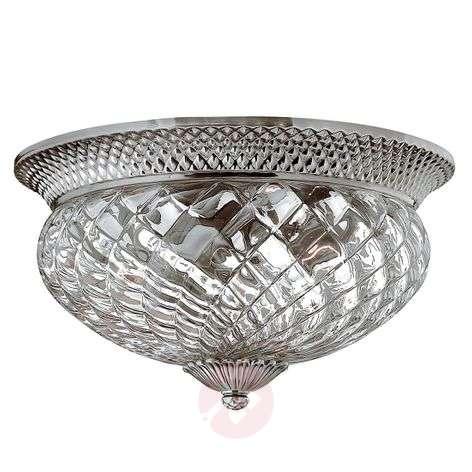 Large ceiling lamp Plantation antique nickel
