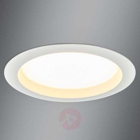Large LED recessed spotlight Arian, 24.4 cm, 22.5W