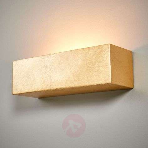 Larina - angular wall light in gold