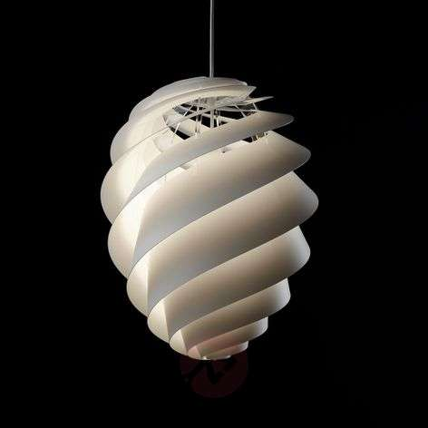 LE KLINT Swirl 2 – designer hanging light, white