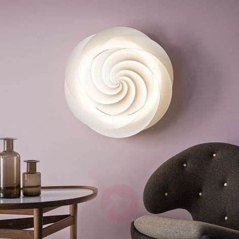 LE KLINT Swirl – wall light with LED, white