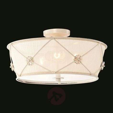 Lea - decorative ceiling light made of organza