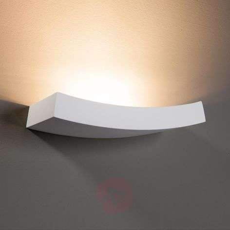 Leander Wall Light Slightly Curved Paintable