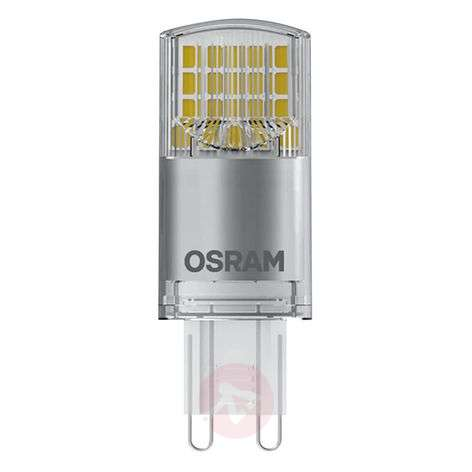 LED bi-pin bulb G9 3.8 W, warm white , 470 lumens