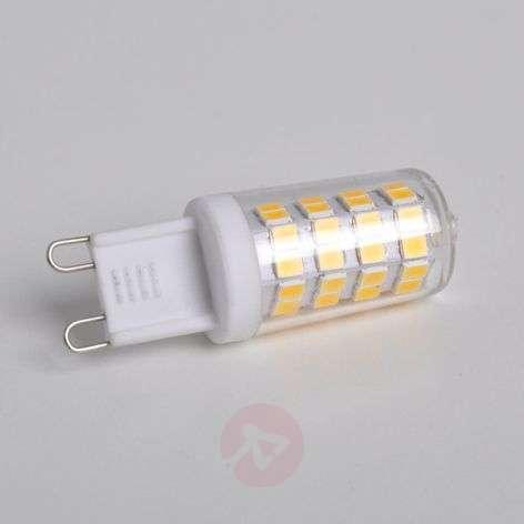 LED bi-pin bulb G9 3 W, warm white , 330 lumens