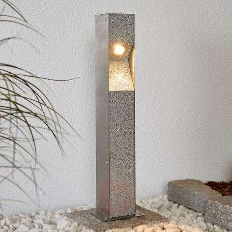 LED bollard light Amelia with granite, 60 cm-9943001-32