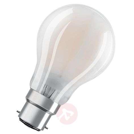 LED bulb B22d 4 W, warm white, 470 lumens