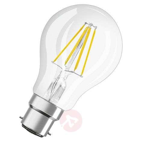 LED bulb B22d 7 W, warm white, 806 lumens