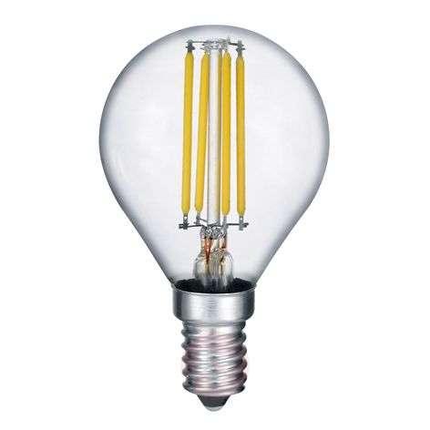 LED bulb E14 4 W filament, 2,700K switch dimmer