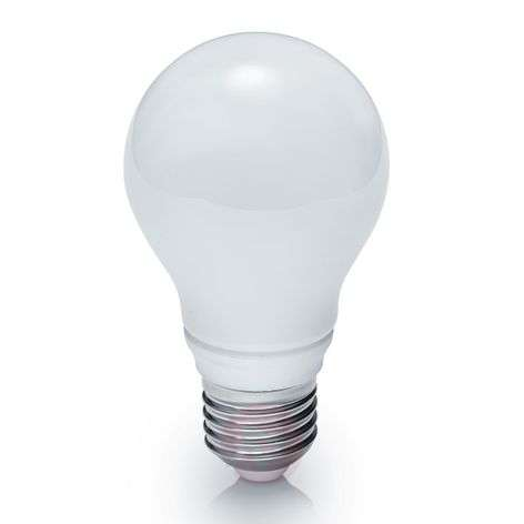 LED bulb E27 10 W, dimmable, warm white