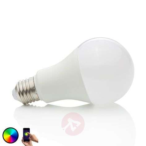 LED bulb WiFi E27 10 W, 2,700 K, RGB, dimmable