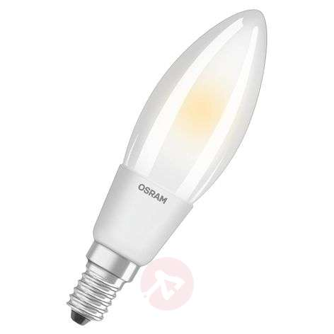 LED candle bulb E14 4.5 W, warm white, dimmable