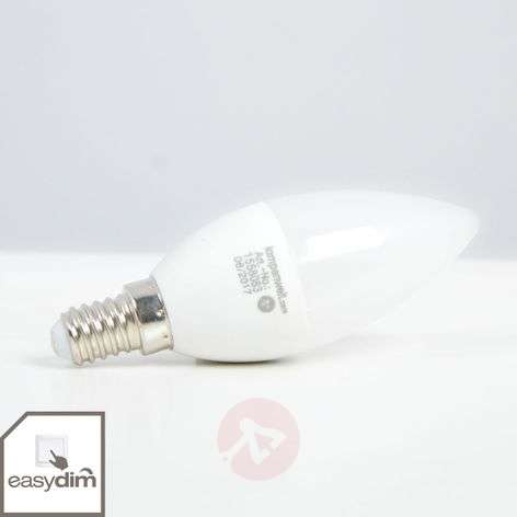 LED candle bulb E14 5W, warm white, dimmable
