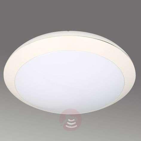 LED ceiling lamp Cubi, sensor, impact-resistant