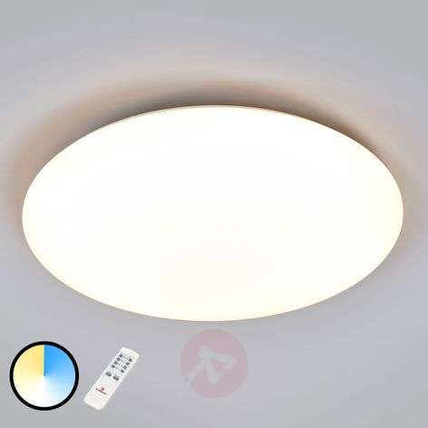 LED ceiling lamp Deana, adjustable luminous colour