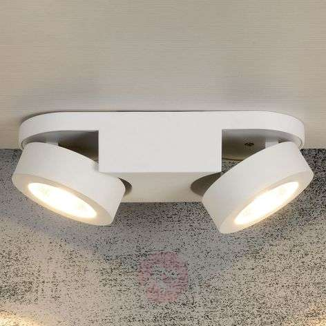 LED ceiling lamp Mitrax with adjustable heads