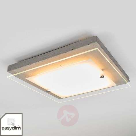 LED ceiling lamp Mylan easydim, 29 x 29 cm