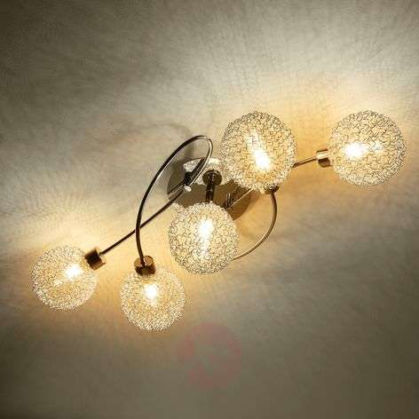 LED ceiling lamp Ticino in a playful style-9620782-34