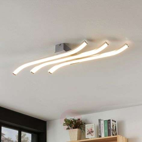 LED ceiling light Annays, wave-shaped, dimmable