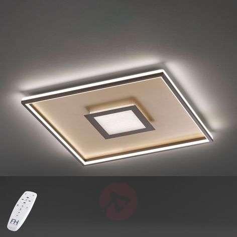 LED ceiling light Bug square, rust