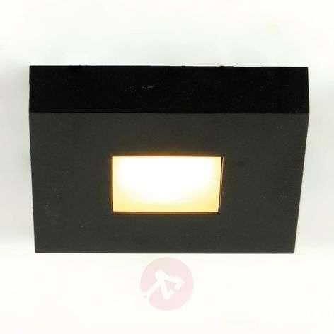 LED ceiling light Cubus in black