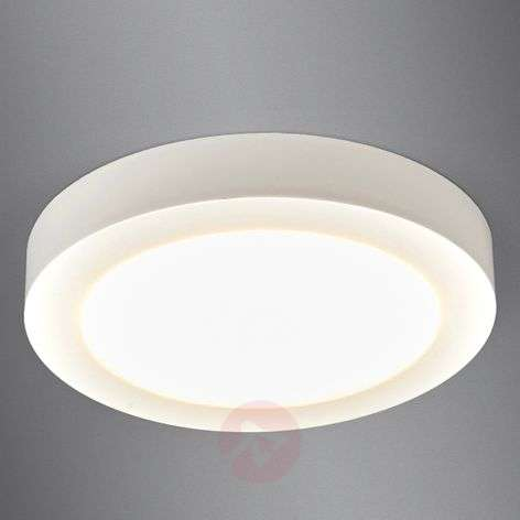 LED ceiling light Esra in white, IP44-9978021-316