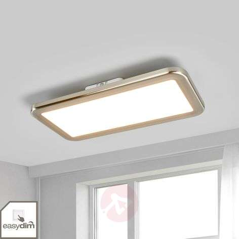 LED ceiling light Neptun, easydim, 40x20cm, iron