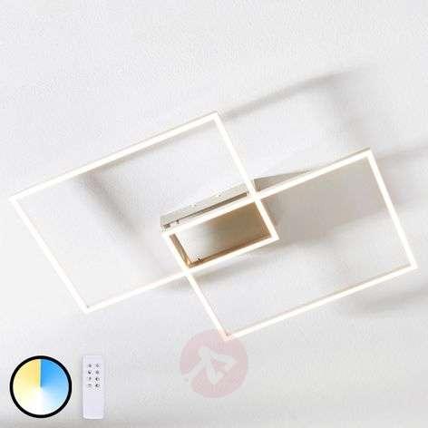 LED ceiling light Quadra, dimmable, two-bulb 75 cm